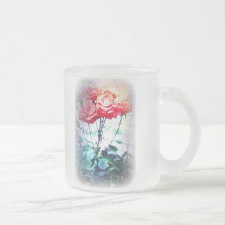 Flame Roses Mug