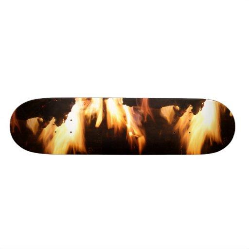 Flame Skate Board