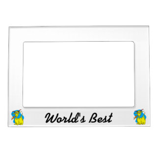 Flame Sneezer Yellow Dragon.png Magnetic Photo Frames