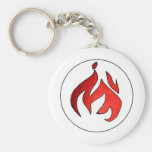 Flame Tuft of Fire from Hot Water Music Key Chain
