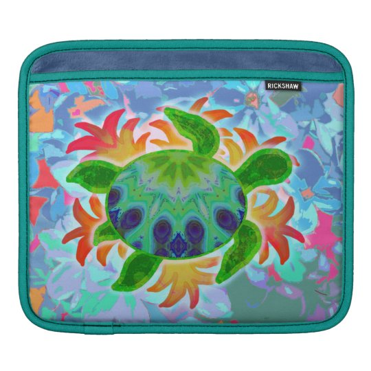 Flame Turtle iPad Sleeve