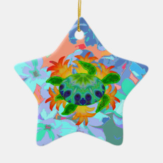 Flame Turtle Star Ornament