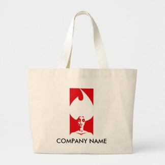 Flame Woman Customizable Bag