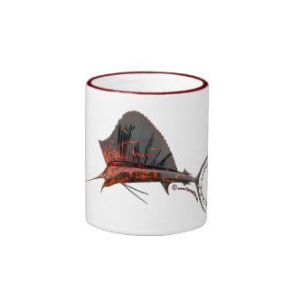 Flamed Marlin Mug