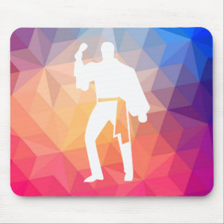Flamenco Actions Pictograph Mouse Pad