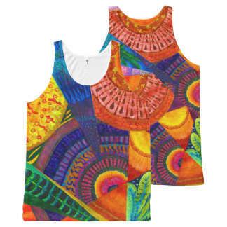 Flamenco.. All-Over Print Tank Top