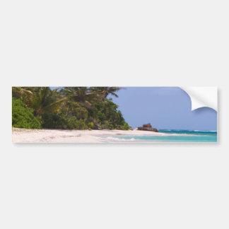 Flamenco Beach Culebra Puerto Rico Bumper Sticker