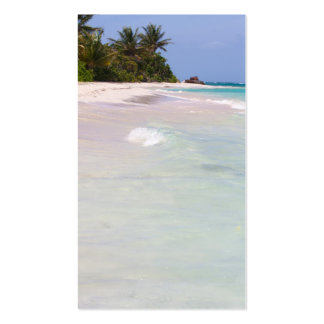 Flamenco Beach Culebra Puerto Rico Business Card Template