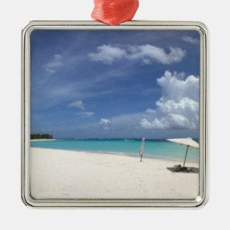 Flamenco Beach Culebra Puerto Rico Ornament