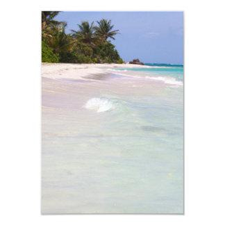 Flamenco Beach Culebra Puerto Rico Custom Invitations