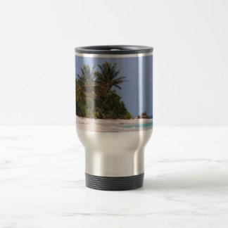 Flamenco Beach Culebra Puerto Rico 15 Oz Stainless Steel Travel Mug