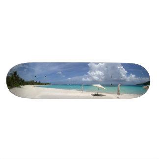 Flamenco Beach Culebra Puerto Rico Skate Board