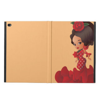 Flamenco cartoon chibi kawaii girl