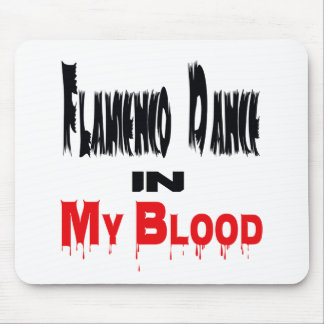 Flamenco Dance In Blood Mouse Pads