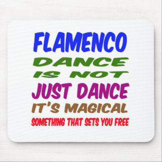 Flamenco Dance is not just dance It's magical Mouse Pad
