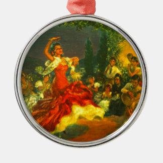 Flamenco Dancer Christmas Ornament