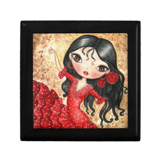 """Flamenco Dancer"" Gift Box"