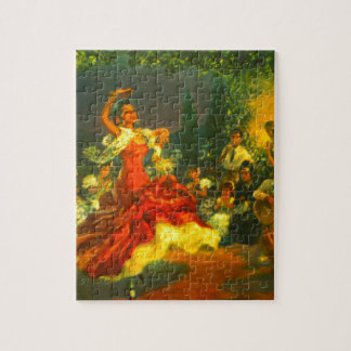 Flamenco Dancer Jigsaw Puzzle