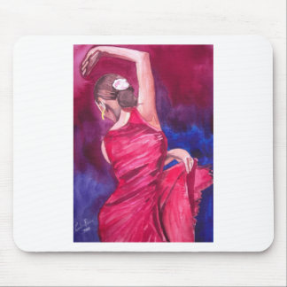 FLAMENCO DANCER MOUSE PAD