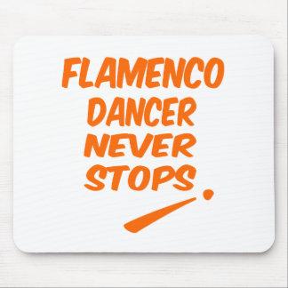 Flamenco dancer Never Stops Mousepad