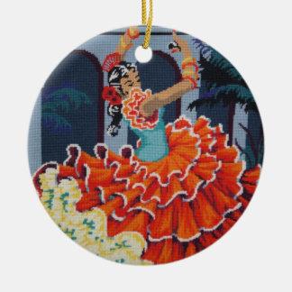 Flamenco Dancer Ornament