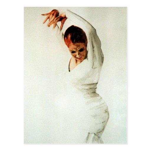 Flamenco Dancer Post Cards