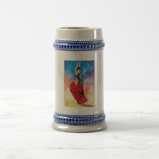FLAMENCO DANCER watercolour Coffee Mug