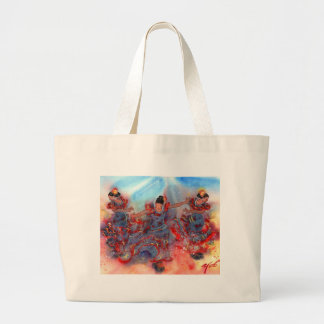 FLAMENCO DANCERS-2 LARGE TOTE BAG