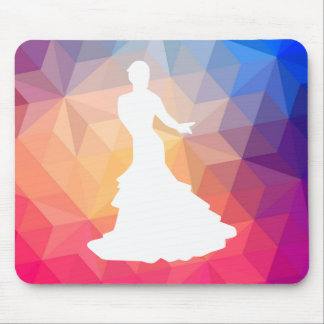 Flamenco Dancers Icon Mouse Pad