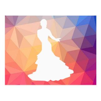 Flamenco Dancers Icon Postcard