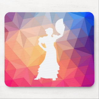 Flamenco Dances Graphic Mouse Pad
