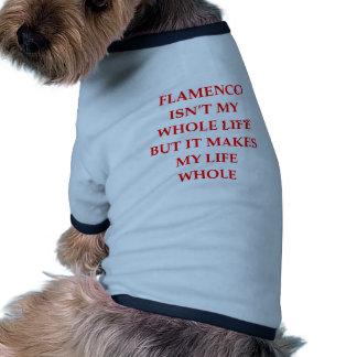 flamenco doggie tee