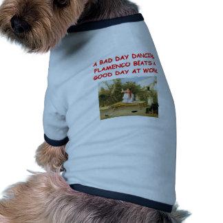 flamenco doggie t shirt
