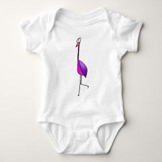 Flamenco Flamingo Baby Bodysuit