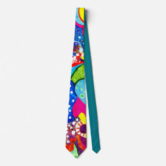 Flamenco Flowers. Tie