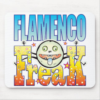 Flamenco Freaky Freak Mouse Pad