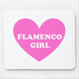 Flamenco Girl Mouse Pad