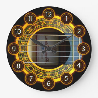 Flamenco guitar by rafi talby clocks