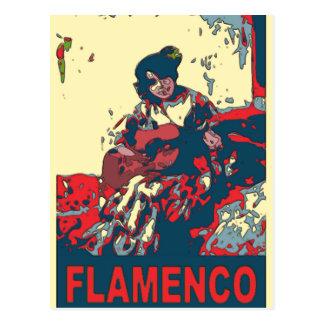 Flamenco Guitar Postcard