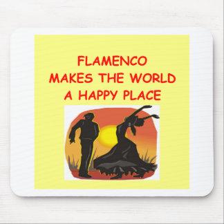 flamenco mouse pad