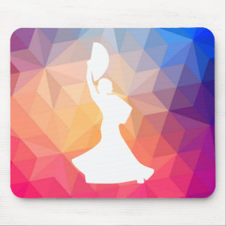 Flamenco Plays Icon Mouse Pad