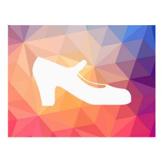 Flamenco Singles Minimal Postcard