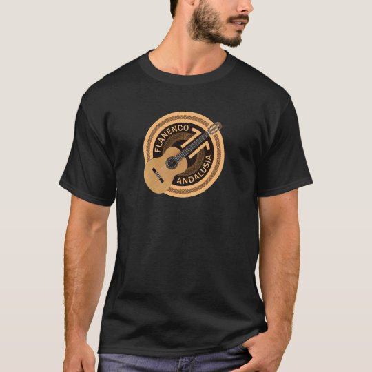 Flamenco Spanish Guitar T-Shirt