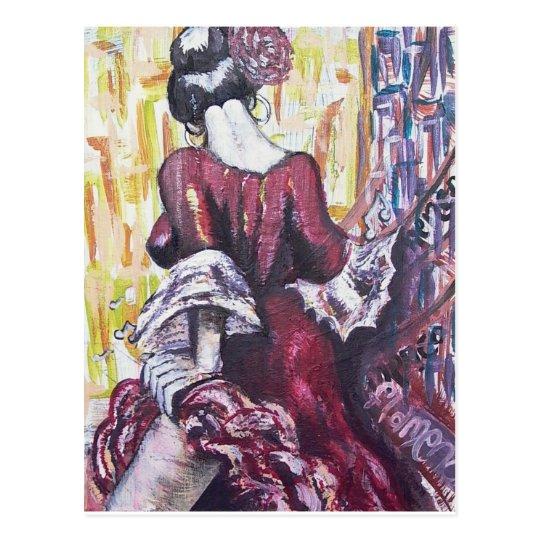Flamenco Spirit Postcard
