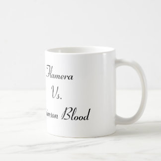 Flamera Vs. Crimson Blood Basic White Mug