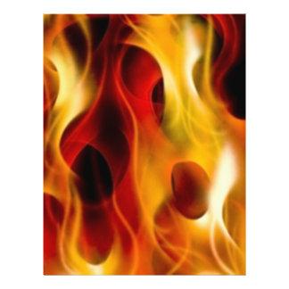 Flames 21.5 Cm X 28 Cm Flyer