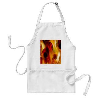 Flames Adult Apron