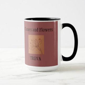 Flames and Flowers Mug