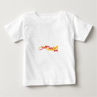 Flames Dragon Baby T-Shirt