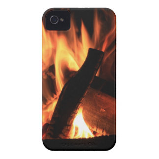 Flames Fire Hot Firemen City Office Party Destiny iPhone 4 Case-Mate Case